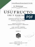 Usufructo_ Uso y Habitacion - Tom i - Venezian-giacomo
