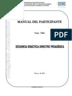 Manual Del Participante Secuencia Didactica (1)