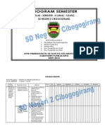 Format Program Semester Kelas 5 SD Negeri 2 Cibogogirang