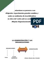 Las Teorias Administrativas Curso MEDELLIN