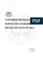 Customer Satisfaction Survey Xtracare IOC