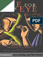 William Ian Miller - Eye for an Eye - CUP