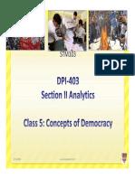 2 Concepts of Democracy