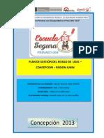 PLAN DE GESTION DE RIESGO UGEL CONCEPCIÓN