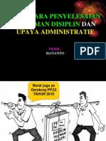 Tata Cara Penyelesaian Kumdis Daerah