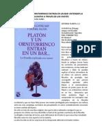 Platon y Un Ornitorrinco Entran en Un Bar Entender La Filosofia a Traves de Los Chistes Sinopsis