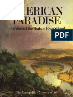 American Paradise the World of the Hudson River School