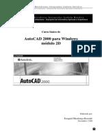 Apostila AutoCAD 2000 - 2D