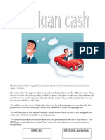 Car Loan Cash