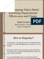 The Competing Values Model
