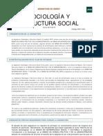 Sociología y estructura social