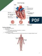 Cardiac Notes