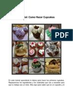 Tutorial Como Hacer Cupcakes