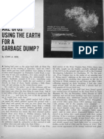 ARE UFOs USING THE EARTH AS A GARBAGE DUMP?, By John A. Keel
