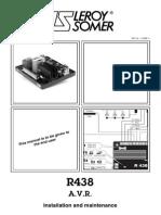 Voltage Regulator Leroy Somer r438 Avr Voltage Regulator Leroy Somer r438 Avr