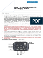 SL 02A Wincong Solar Charge Controller User Manual