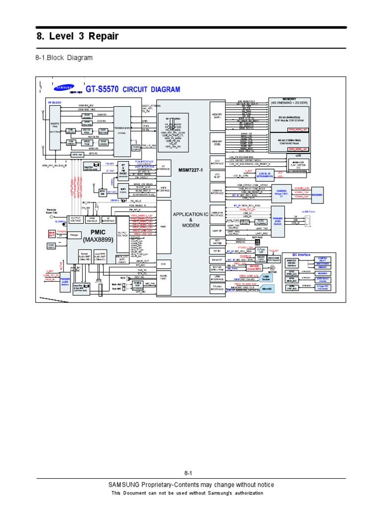 Samsung GT-S5570 Galaxy Mini - Repair Diagram (1)   Solder   Inductor