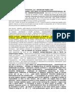 AGU PROCURADOR FEDERAL 2010 - COMENTÁRIOS