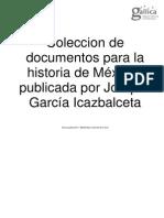 García Icazbalceta - Obra Completa II