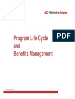 Program Lifecycle and Benefits Management