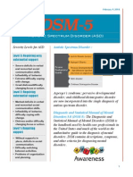 Fact Sheet ASD DSM-5
