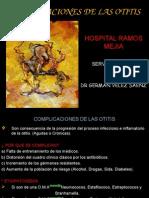 Complicaciones de Las Otitis.