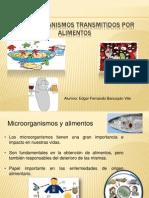 Microorganismos Transmitidos Por Alimentos