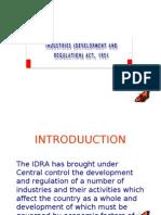 Industries Development and Regulation Act