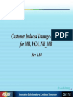 Customer Induced Damage