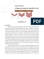 Contoh Program Kerja Pramuka Aang