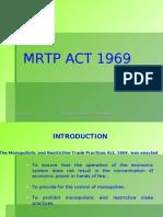 Mrtp Act 1969