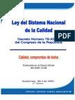 Decreto 78-2005 Ley Del Sistema Nacional de La Calidad