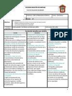 Plan de evaluación 4 bim 2 grado