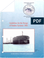 PIANC Guidelines for the Design of Fenders Systems_2002