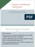 Reproduccion y Crecimiento Bacteriano