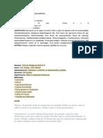 Fichas tecnicas de pruebas psicométricas