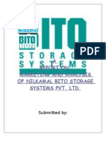 final report---nilkamal-bito storage systems pvt ltd