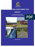 Fifth National Development Plan 2006 - 10