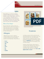 Food Allergy Fact Sheet