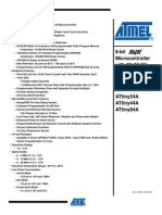ATtiny44A datasheet