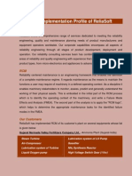 RCM Implementation Profile