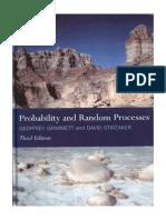 Probability and Random Process by Geoffrey Grimmett and David Stirzaker