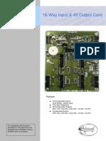 680-198-01 MXP-539 16-Way Input 48-Way Output Card