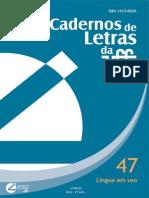 Dias (2013)e- A referência nos estudos semânticos (coautor- Lacerda)