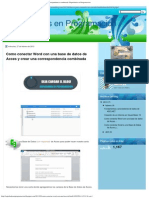 Como conectar Word con una base de datos de Acces y crear una correspondencia co.pdf