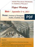 Taipei Workshop Program (September 2013)