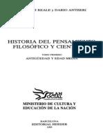 Historia Del Pensamiento Filosófico Y Científico I - Antigüedad Y Edad Media