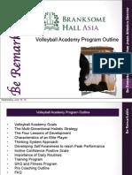 branksome volleyball academy program outline