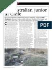 Australian Junior in Chile