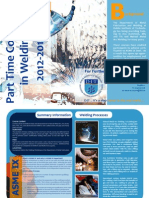 Welding Courses Publication 2012-2013 A4